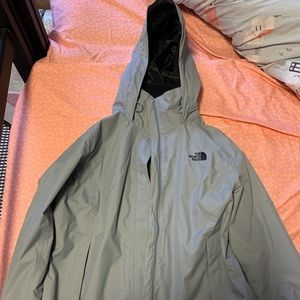 Large North Face Rain Jacket